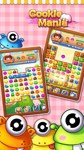Cookie Mania - Match-3 Sweet Game modavailable screenshots 6