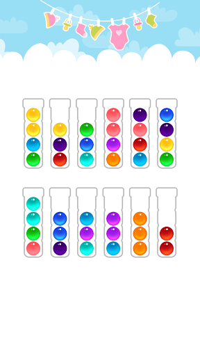 Ball Sort Color Water Puzzle 5.3.0 screenshots 3