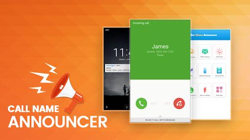 Caller Name Announcer - Sms Talker & Call Splash 1.0.18 screenshots 1