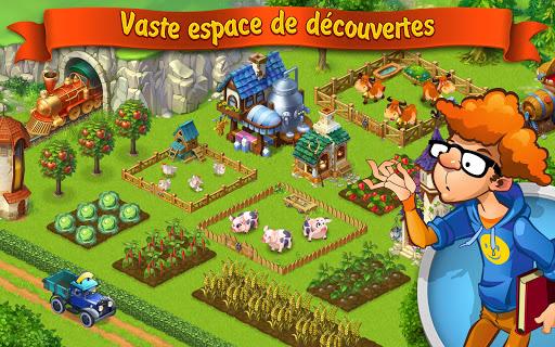 Code Triche Jeux de fermé gratuit français: Lucky Fields APK MOD (Astuce) 1