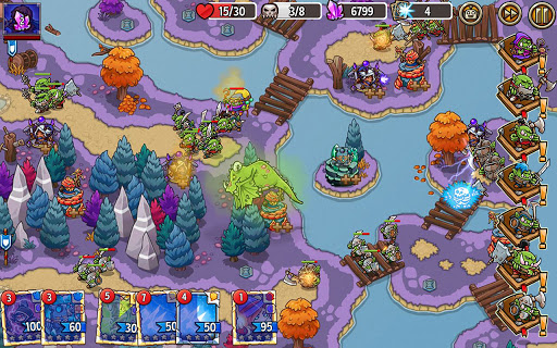 Crazy Defense Heroes: Tower Defense Strategy Game 2.4.0 screenshots 24