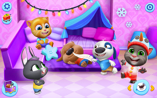 My Talking Tom Friends 1.5.1.4 screenshots 11