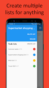 1 Day TODO – ToDo List for current day
