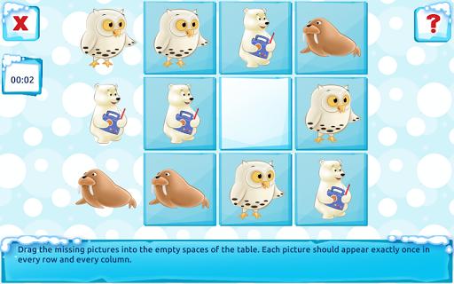 Polar Bear Cub - Fairy Tale with Games Free android2mod screenshots 15
