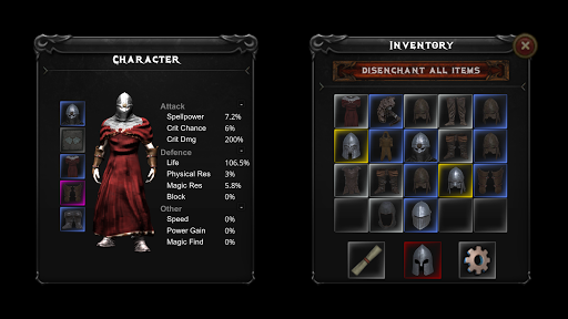 Powerlust - action RPG roguelike android2mod screenshots 3