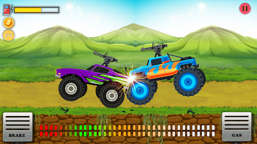 UpHill Racing Game- Shoot To Climb  screenshots 2
