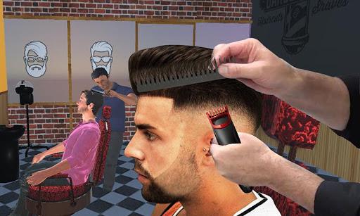 Barber Shop Hair Salon Cut Hair Cutting Games 3D 2.4 screenshots 4