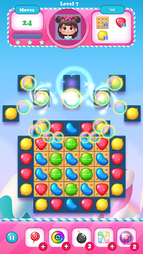 Candy Bomb - Match 3 screenshots 2