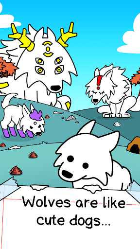 Wolf Evolution - Merge and Create Mutant Wild Dogs screenshots 1
