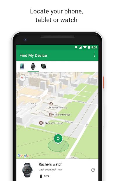 Google Find My Device screenshot 3