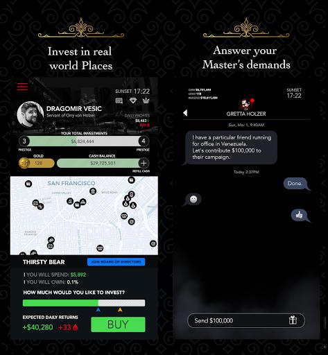 Télécharger Gratuit Vampire Capitalist APK MOD (Astuce) screenshots 2