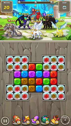Dragon Village B - Dragon Breeding Puzzle Blast 1.1.29 screenshots 8