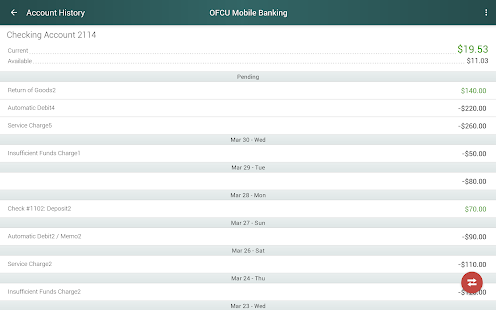 OFCU Mobile Banking