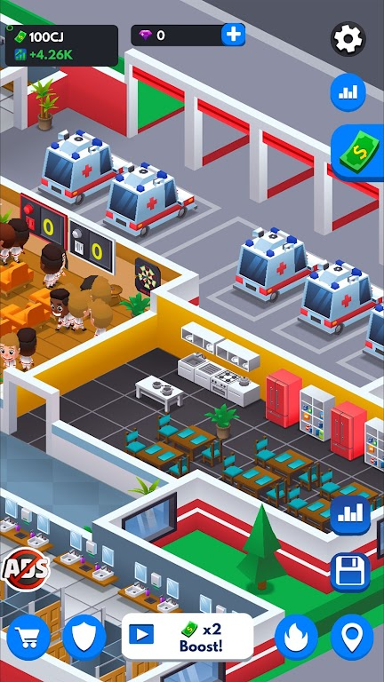 Idle Firefighter Tycoon - Fire Emergency Manager  poster 14
