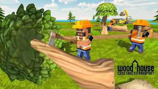 Wood House Construction Simulator 1.1 screenshots 5