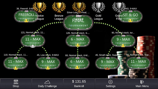 Offline Poker - Tournaments screenshots 7