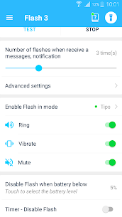 Flash notification on Call & all messages Mod Apk (VIP Unlocked) 5