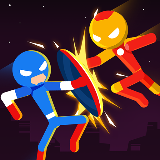 Action games with your favorite character from a huge cast of stickman fight.