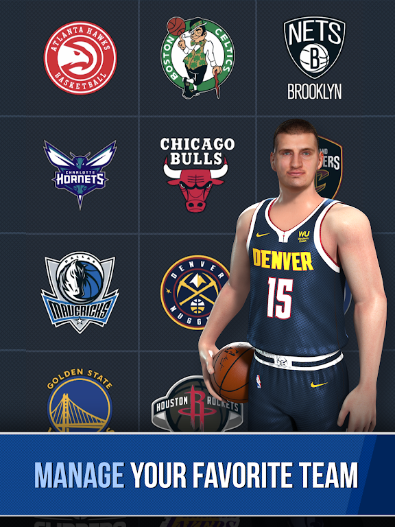NBA Ball Stars: Play with your Favorite NBA Stars poster 8