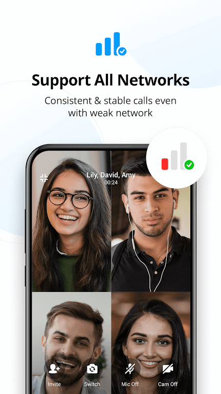 imo free video calls and chat  poster 6