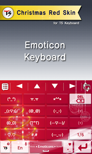Christmas red for TS keyboard For PC Windows (7, 8, 10, 10X) & Mac Computer Image Number- 8