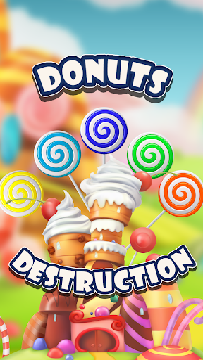 sweet cute donut - game for children and adults screenshot 2