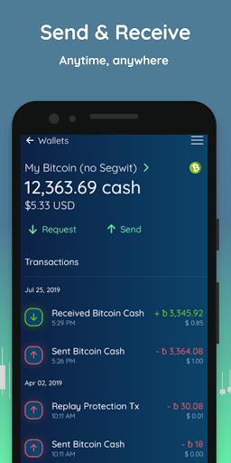 Edge - Bitcoin, Ethereum, Monero, Ripple Wallet  Screenshots 3