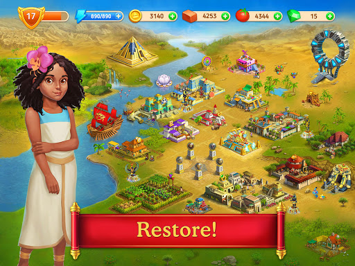 Cradle of Empires Match-3 Game 6.6.0 screenshots 12