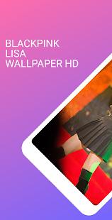 Blackpink Lisa Wallpaper Kpop HD 1.2 screenshots 1