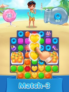 Jellipop Match-Decorate your dream island! 10