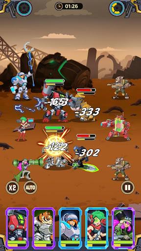 Télécharger Gratuit Idle Arena - Bataille de héros clicker mod apk screenshots 5