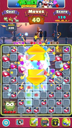 Jewel Dungeon - Match 3 Puzzle 1.0.99 screenshots 5