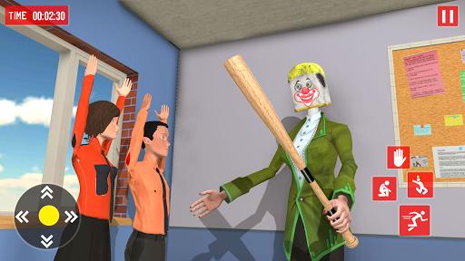 Hello Spooky Scarry Ice Scream Teacher 3D 2020 APK MOD (Astuce) screenshots 3