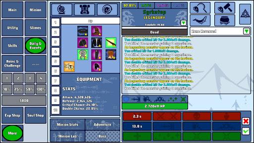 Wizard And Minion Idle 1.41 screenshots 1