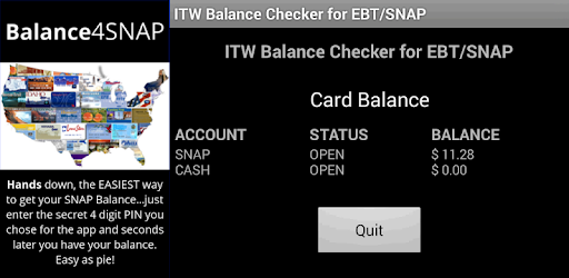 Balance 4 SNAP and EBT - Apps on Google Play