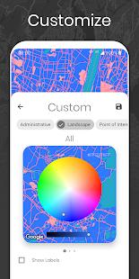 Cartogram – Live Map Wallpapers & Backgrounds [v5.4.7] APK Mod for Android logo