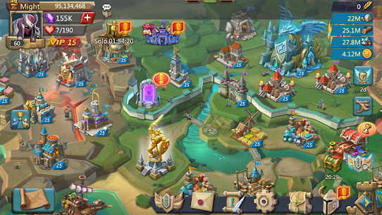 Lords Mobile APK MOD 2.61 (Unlimited Gems/Resources) 6