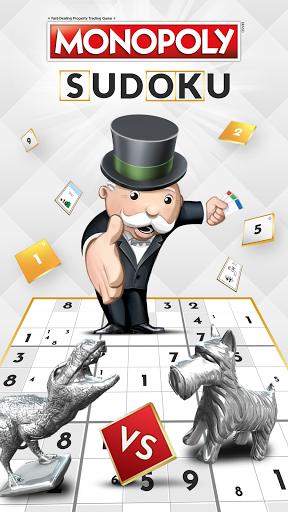 Monopoly Sudoku - Complete puzzles & own it all!  screenshots 1