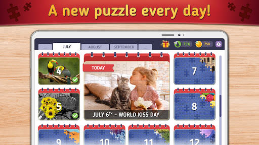 Relax Jigsaw Puzzles android2mod screenshots 3