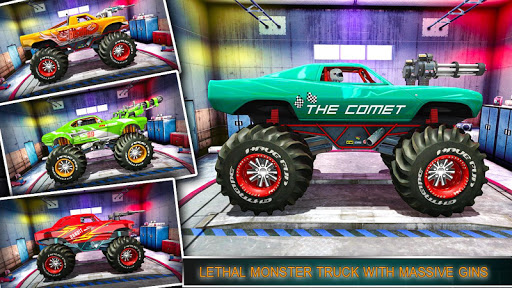 Monster Truck Racing Games: Transform Robot games 1.4 com.mizo.monster.truck.games apkmod.id 3
