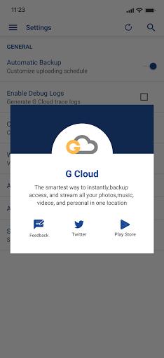 G Cloud Backup: FREE Cloud Storage android2mod screenshots 7