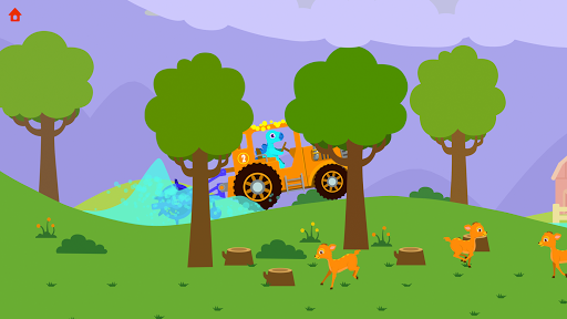 Dinosaur Farm - Tractor simulator games for kids screenshots 4