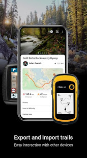 ExGo: Off-road trail tracker with GPS & topo maps.