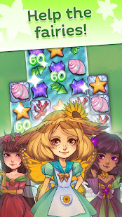 Fairy Blossom Charms - Free Match 3 Story Puzzle