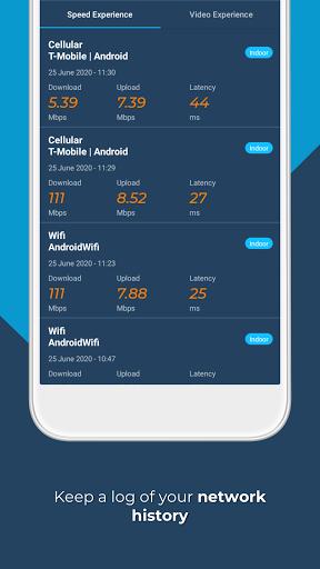 Opensignal - 5G, 4G, 3G Internet & WiFi Speed Test apktram screenshots 8
