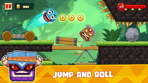Ball's Journey 6 - Red Bounce Ball Heroes screenshots 9