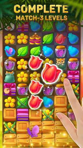 Solitaire: Treasure of Time Match-3 android2mod screenshots 4