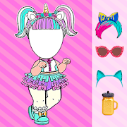Dolls Dress Photo Editor for girls