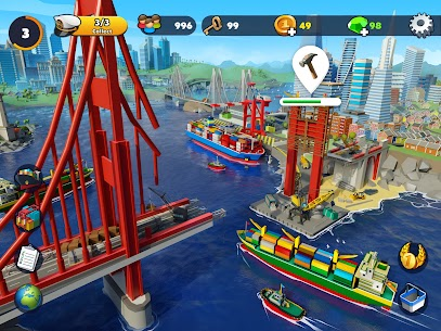 Free Port City  Ship Tycoon Apk Download 2021 3