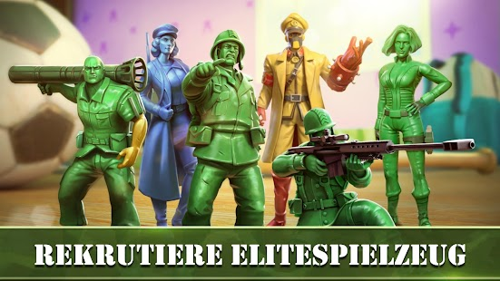 Army Men Strike - Krieg und Strategie: Armee Bauen Screenshot
